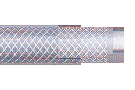 Clear Reinforced PVC